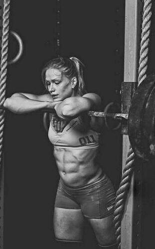 Framed Print Picture Fitness Exercise Art Annie Thorisdottir Crossfit Women