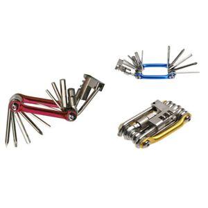11-in-1-Mini-Fahrrad-Reparatur-Werkzeug-Set-Schraubendreher-Steckschluess-H2Q1