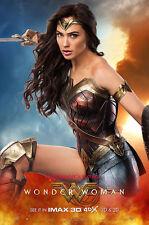 WONDER WOMAN 27x40 LIGHT BOX Poster DS banner Gal Gadot Diana princess of Amazon