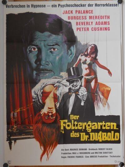 FOLTERGARTEN DES DR. DIABOLO (Pl. '67)- FREDDIE FRANCIS / PETER CUSHING / HORROR