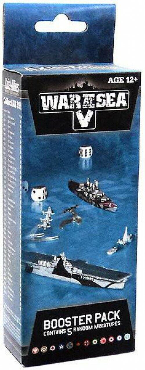 Axis & Allies guerra en el mar V Booster Pack