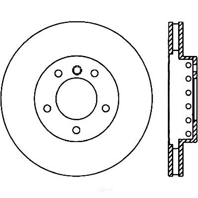 For 2004-2010 BMW 545i 645Ci 550i 650i FR//RR eLine Drill Slot Brake Rotors