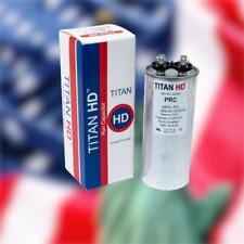 Round Motor Run Capacitor 100 Mfduf 370 Volts American Made Hvac Titanhd