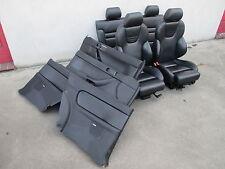 RECARO Lederausstattung Audi A3 S3 8L Sportsitze Sitze Ausstattung LEDER schwarz