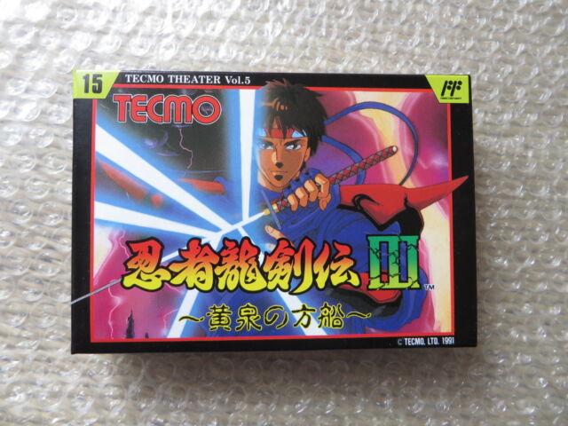 Japanese Game Nintendo Famicom Ninja Ryukenden 3 Tecmo Brand New !