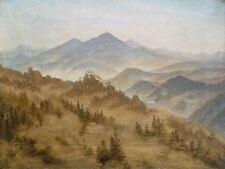 PAINTING LANDSCAPE FRIEDRICH ROSENBERG BOHEMIAN MOUNTAINS ART PRINT POSTER LF561