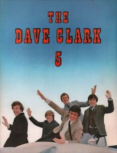 DAVE-CLARK-5-CATCH-US-IF-YOU-CAN-1965-TOUR-CONCERT-PROGRAM-BOOK-NMT-2-MINT