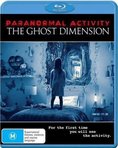 1 of 1 - The Paranormal Activity - Ghost Dimension ( Blu-ray )