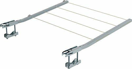 Gimi Ring Tendedero de balcón de Acero galvanizado, 20 m de Longitud de tendid