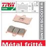 2 Plaquette Frein Avant métal Frité TRW MCB611SV Yamaha YZF 600 R6 1999 - 2016