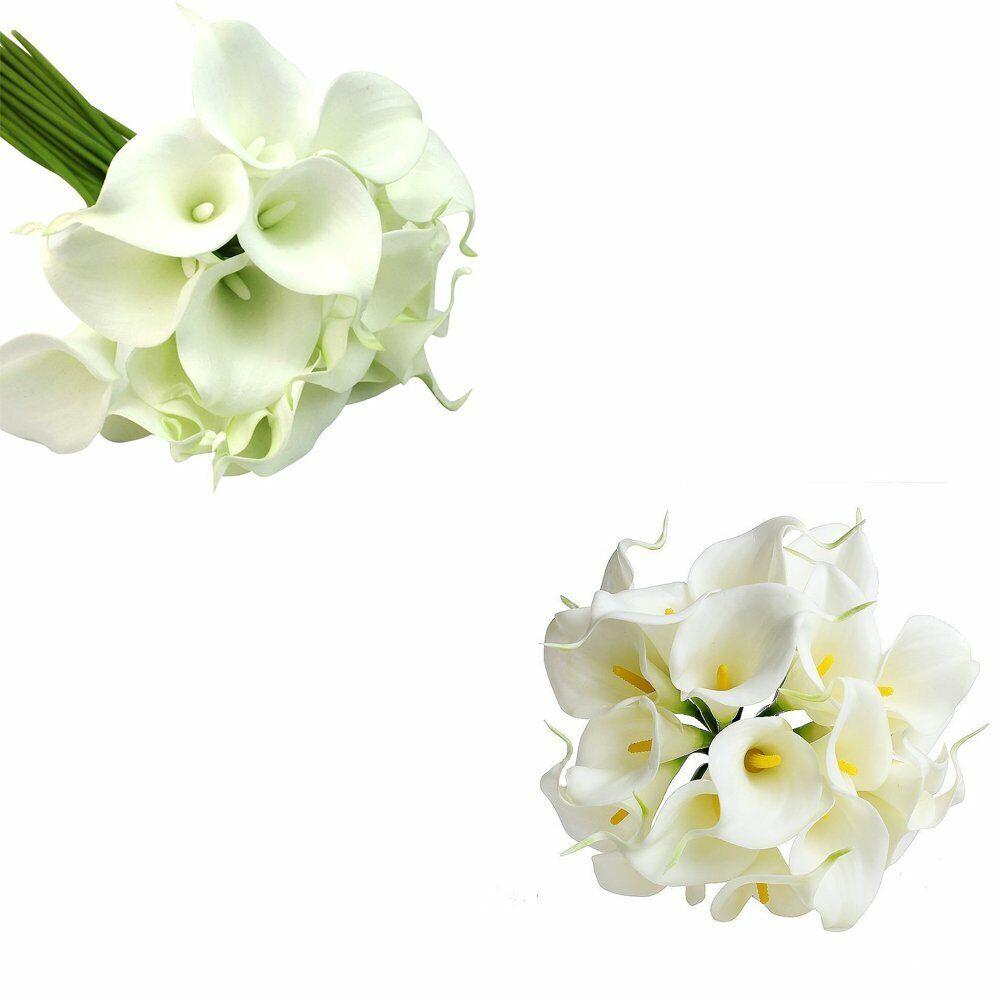 Bridal Bouquet Wedding Bouquet Decoration Floral Foam Flower Handle FUNSECO 6pcs Bouquet Holders