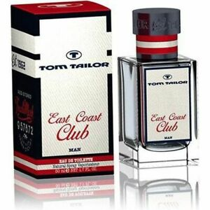 Details about Tom Tailor East Coast Club Edt Eau de Toilette Spray for Men 50ml 1.7fl.oz