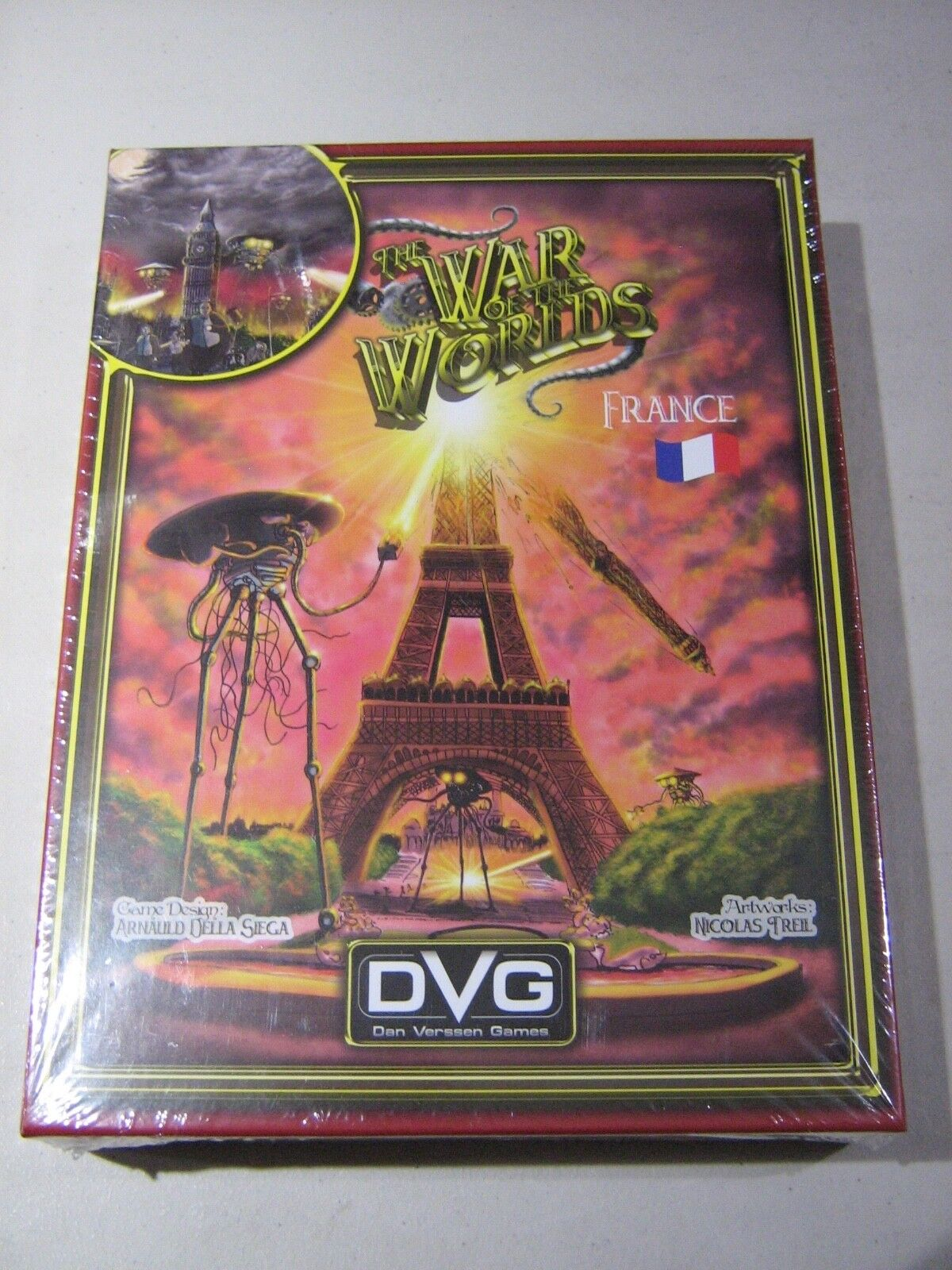 War of the Worlds - France (New)