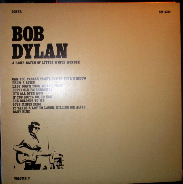 Bob Dylan - A Rare Batch Of Little White Wonder - LP von 1975 - Volume 3