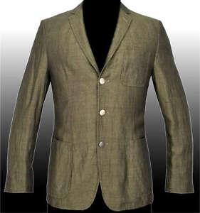 new hugo boss selection blazer sport coat linen suit jacket veste 40r 50 germany ebay. Black Bedroom Furniture Sets. Home Design Ideas