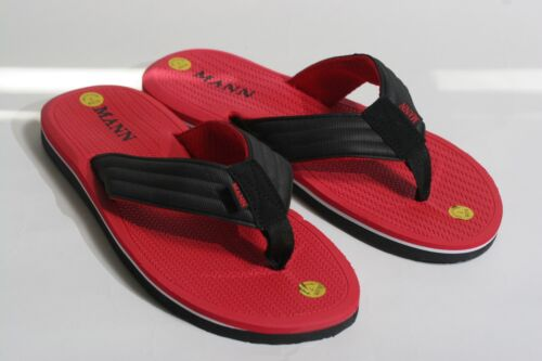 New Men/'s Sport Casual Flip Flops Fabric Upper Thong Sandals size 7-13