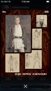 Topps-Star-Wars-Digital-Card-Trader-Orange-Sketch-To-Screen-Obi-Wan-Insert