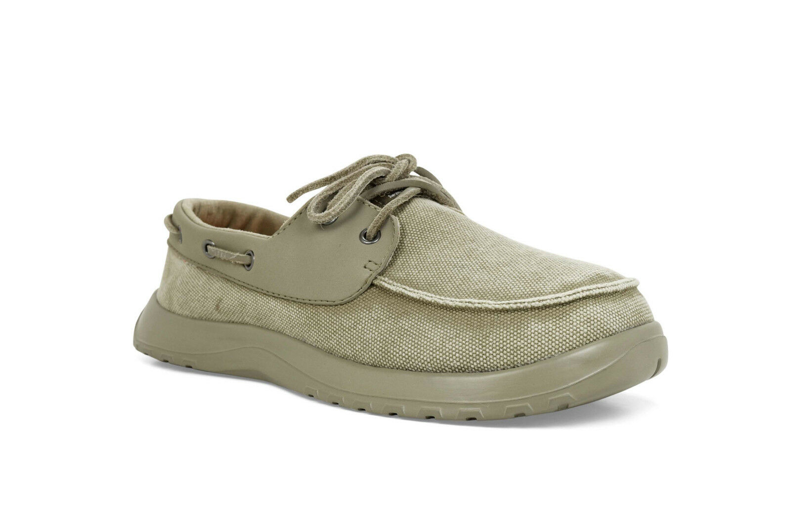 Descuento de la marca Softscience cruise canvas mocasín Boot zapatos vela zapatos caqui