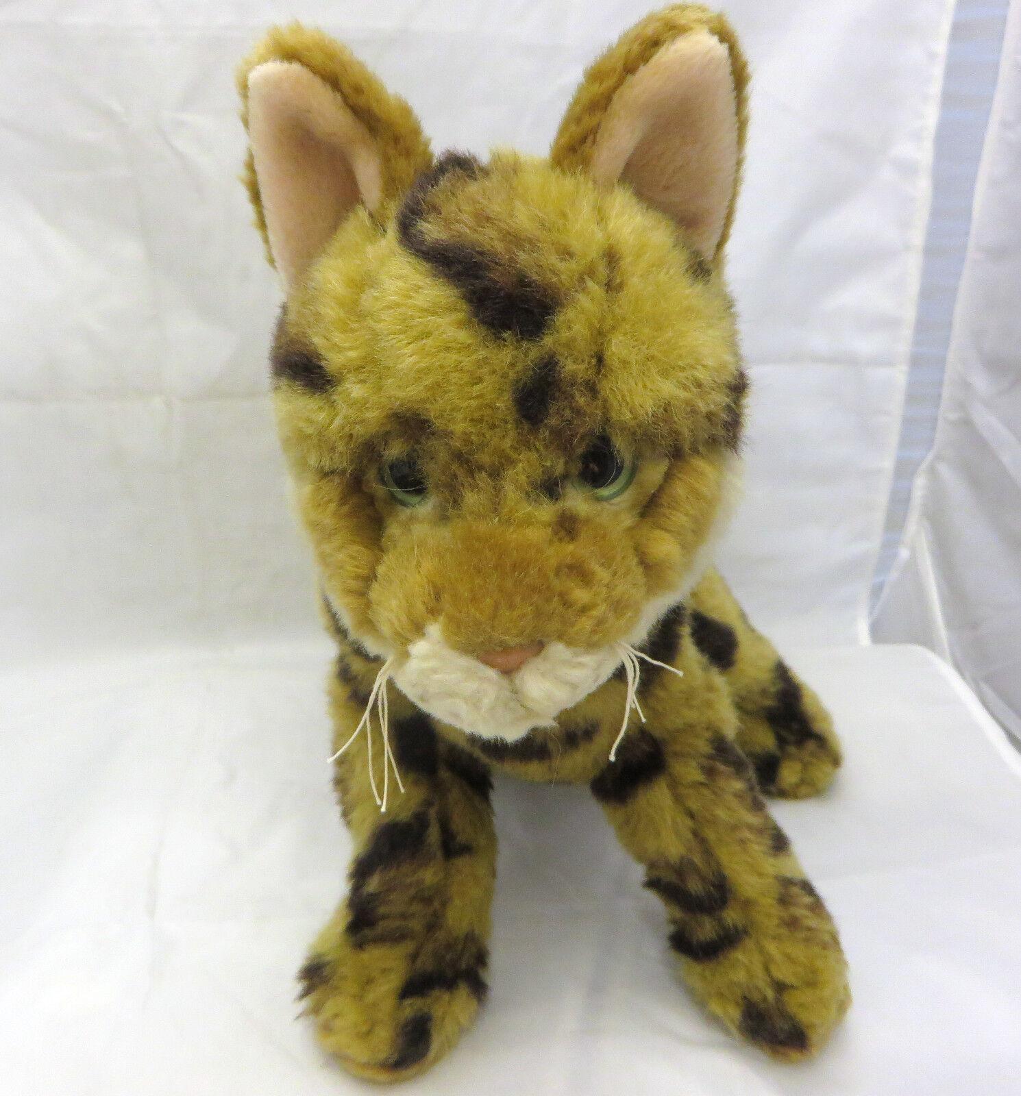 Webkinz Signature BENGAL CAT retired WKS1065 GANZ PLUSH