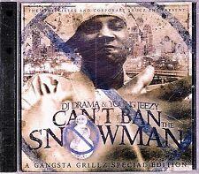New! DJ DRAMA YOUNG JEEZY You Can't Ban The Snowman Mixtape Promo G-rap Gangsta