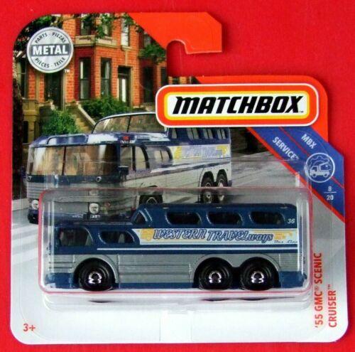 Matchbox 2019 /'55 gmc Scenic Cruiser 90//100 neu/&ovp