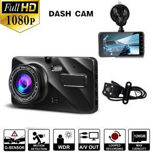 Full-HD-1080P-Car-DVR-Dual-Lens-Camera-Vehicle-Dash-Cam-Recorder-Night-Vision
