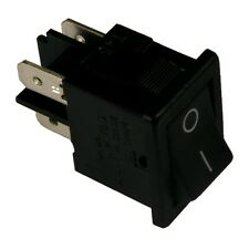 Wippschalter H8550VBACA Schalter 2-polig EIN-AUS 10A 250V AC schwarz I/O 855226