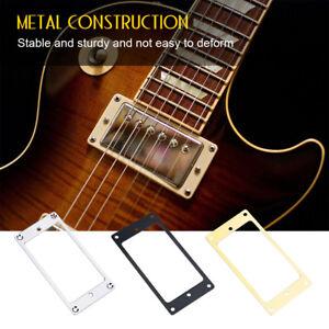 Set-of-2-Metal-Humbucker-Pickup-Mounting-Rings-for-Electric-Guitar-3-Colors
