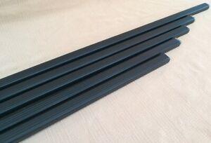 End Caps Single Thule SquareBar Evo Roof Rack Load Bar 108 118 127 135 150 cm