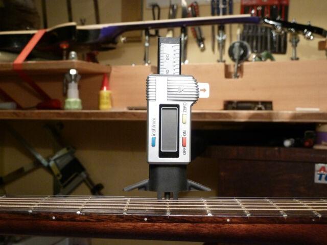 guitartechs string height nut slot depth gauge guitar neck relief luthier tool for sale ebay. Black Bedroom Furniture Sets. Home Design Ideas