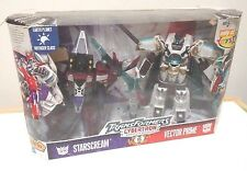 TransFormers Cybertron Vector Prime vs StarScream TRU Set MIB Rare Color Lot aoe