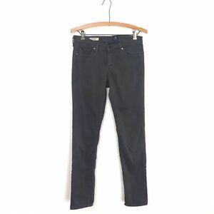 Adriano Goldschmied AG Jeans 27R The Stilt Cigarette Dark Gray Skinny Pants A4