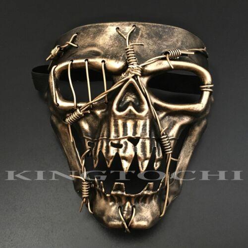 Halloween Scary Skeleton Skull Masquerade Costume Full Face Mask