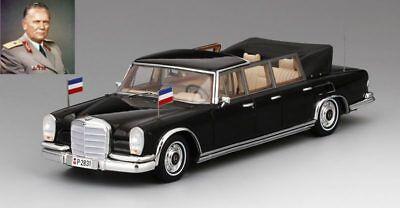 Mercedes Benz 600 Pullman Landaulet 1967 Josip Tito President Yugoslavia 1:43 Firm In Structure