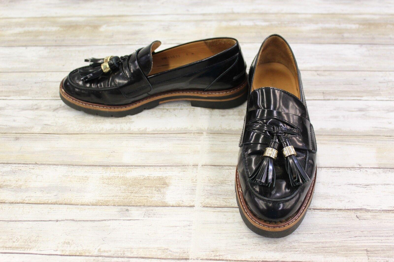 b611f34e847 Buy Stuart Weitzman Manila Polished Calf Leather Loafers Women s ...