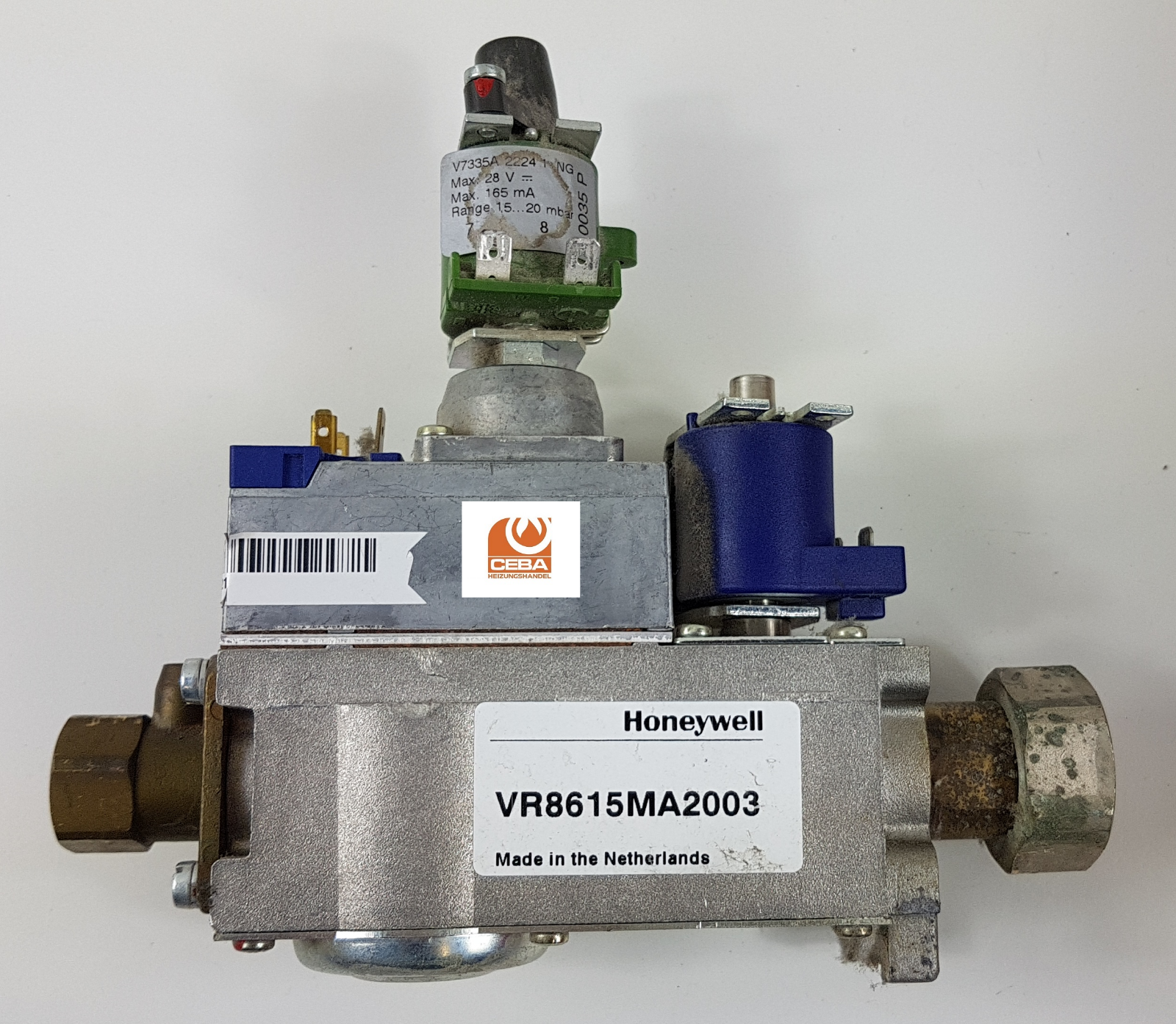 Honeywell Gasarmatur Typ VR8615M A2003