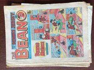 box e rare beano comic 1985 no 2257 oct 19th - Leicester, United Kingdom - box e rare beano comic 1985 no 2257 oct 19th - Leicester, United Kingdom