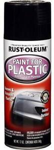 Rust-Oleum-Automotive-248649-12-Ounce-Paint-for-Plastic-Spray-Gloss-Black