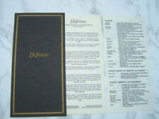 OPEN       *6862 ZENITH INTERNATIONAL GUARANTEE WARRANTY BOOKLET UNUSED BLANK