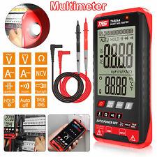 Multimeter Ohmmeter Ammeter Voltmeter Digital Display Auto Range Test Volt Ac Dc