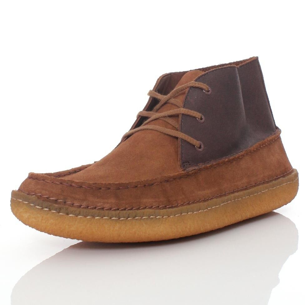 Clarks Originals ** Wallabees in Edmund Corsia ** Tabacco in Wallabees Pelle Scamosciata CMB ** 4f534c