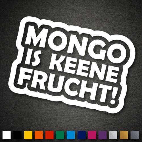 Aufkleber 99x149 mm Sticker JDM OEM DUB Shocker 13023 Mongo is keene Frucht