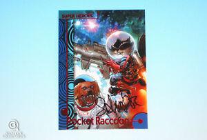 2013-Fleer-Marvel-Retro-Rocket-Raccoon-Autograph-Base-Card-35-Salvador-Larroca