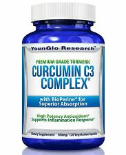 Curcumin C3 Complex with BioPerine - Powerful Health Benefits