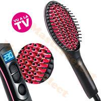 Brosse Lissante Chauffante Ceramique Pour Cheveux Sur Electrique Pas Cher