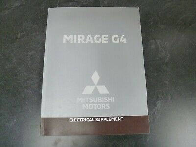 2019 mitsubishi mirage g4 sedan electrical wiring diagrams manual es cvt rf  se  ebay