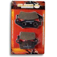 Honda F+r Brake Pads Sl 230 (1997-2001) Crm 250 (1991-1998) Xr 300 Nx 4 (02-05)