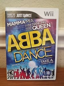 ABBA: You Can Dance (Nintendo Wii, 2011) Video Game Booklet/Manual included