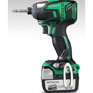 hitachi power tools wh 14ddl 4 0l akku schlagschrauber. Black Bedroom Furniture Sets. Home Design Ideas