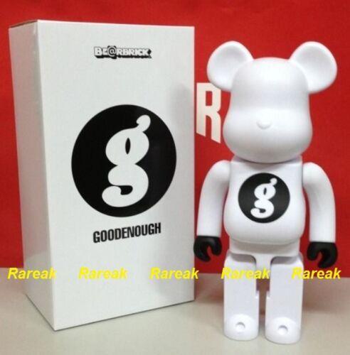 Bearbrick Medicom 2015 Be@rbrick Resonate Goodenough 400/% Good Enough White ver